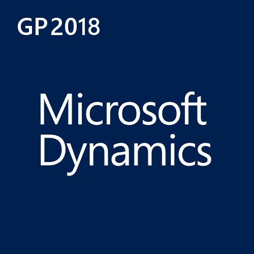 Dynamics GP 2018