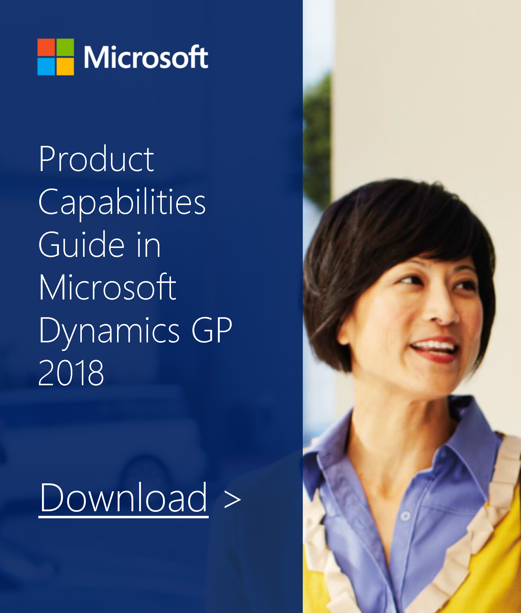 Dynamics GP 2018 Capability Guide