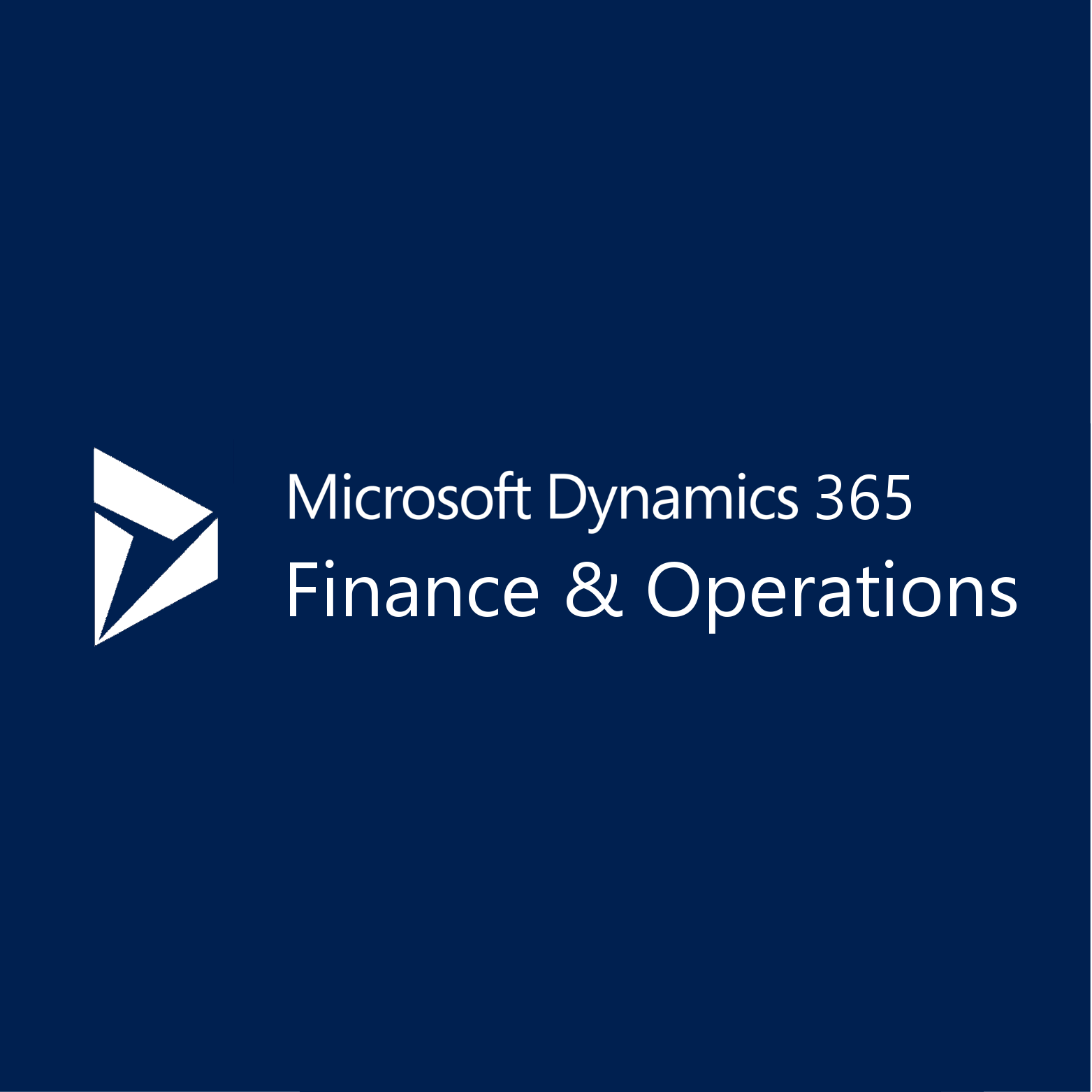Dynamics 365 Unified Operations Plan